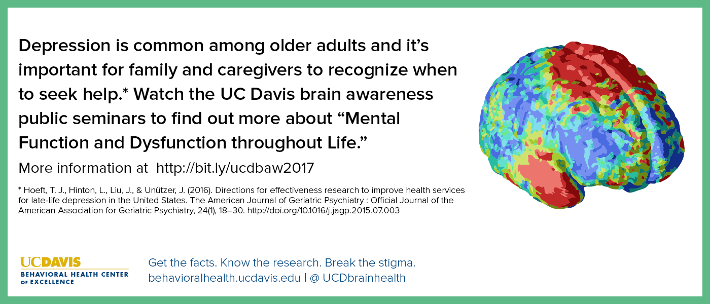 UC Davis Brain Awareness Week